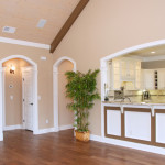 Great Room Kitchen Wood Ceiling Vaulted Cathedral