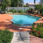 Home Swimming Pool Design Above Ground Decks Color