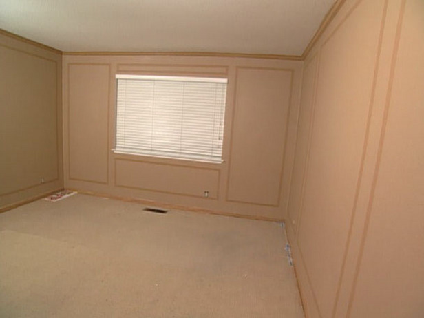 How Make Over Mirror Frame And Wall Panel