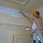 How Paint Cornices And Ornate Ceilings