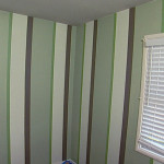 How Paint Multiple Striped Walls
