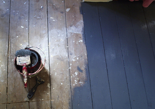 How Paint Wood Floor