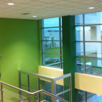 Interior Commercial Building Painting Denver