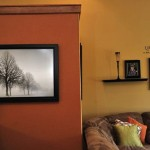 Interior Orange Color Painting Ideas For Walls