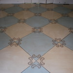 Justify The Painted Floor Can Cost Less Than Carpet
