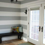 Kick The Drama Painting Gray Stripes Your Walls Result