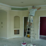 Living Room Paint Continues