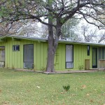 Lot Austin Texas This Ranch Style House Painted Leafy Green