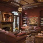 Man Cave Finished Basement Old World Smoke Lounge Paint Color Ideas