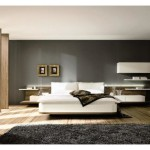 Modest Master Bedroom Ideas Black Paint Color