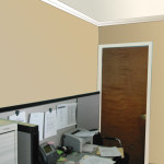 New Wall Colors Office Showing Color Scheme