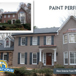 Only Premium Paint Products Professionally Pressure Washed Exterior