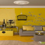Paint Colors For Small Living Rooms Yellow Wall