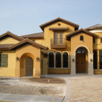 Paint Your Exterior Gold Color Wonderful House Painting