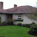 Painted Brick Laurelhurst Mid Century
