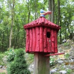 Painted Twig Birdhouse