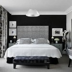 Painting Accent Wall Black And White Bedroom Paint Ideas
