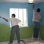 Painting Baby Room