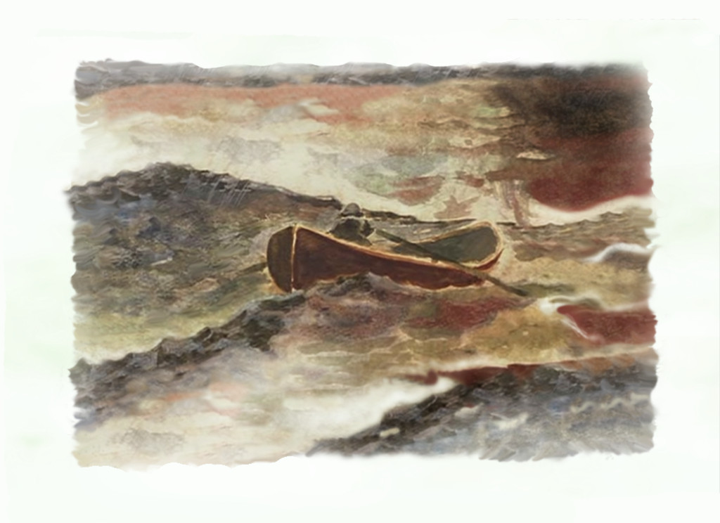 Painting Good Will Hunting Row Boat