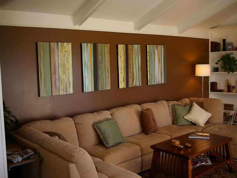 Painting Ideas For Living Room Brown Theme