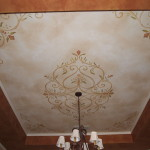 Painting Over Stencils Walls Pictures