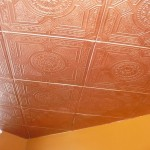Painting Styrofoam Ceiling Tiles