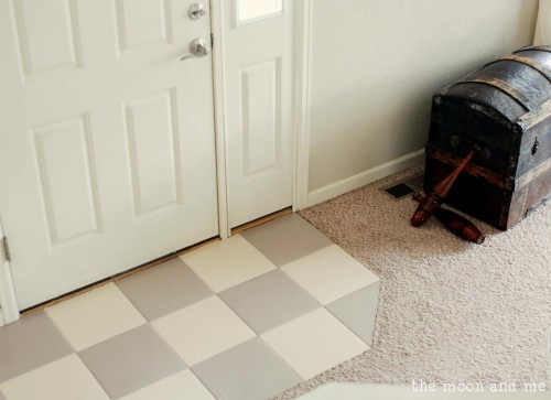 Painting Tile Floor Tips And Grumbles