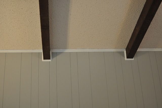 Painting Updating Wood Paneling