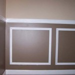 Painting Wainscoting Choco Colour