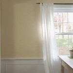 Painting Wainscoting Creamy Colour