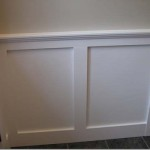 Painting Wainscoting Stairs
