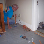 Painting Wood Floor