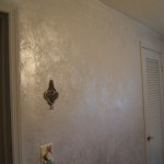 Pearl Wall For Mother Effect And Got Silver Walls