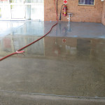 Removing Concrete Dags Paint From Painted Floors Expose