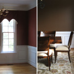 Room Paint Color Design Lines Ltd Chocolate Brown Dining