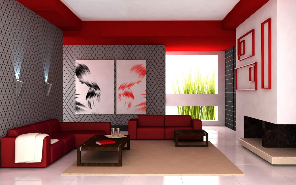 Room Paint Ideas Red