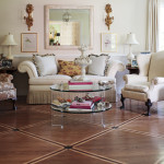 Simple Painted Floor Rubbed And Aging Glaze Nice Way