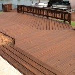 Staining Deck Over Paint