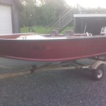 Starcraft Boat New Floor Transom Paint Wiring