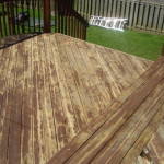 Stripping Paint Wood Decks