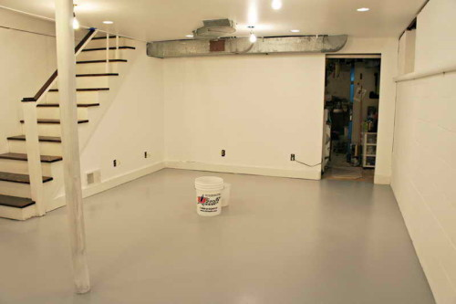 The Basement Floor Ideas
