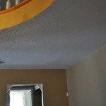 The How Paint Popcorn Ceiling