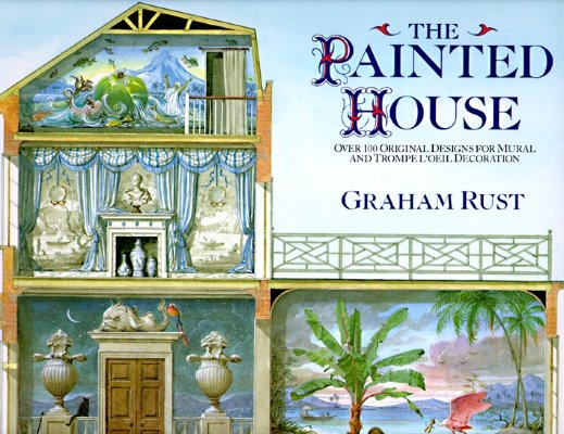 The Painted House Over Original Designs For Mural And Trompe