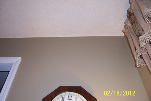 The Painting Popcorn Ceiling