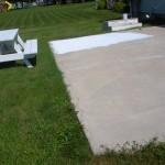 The Primer Dried Painted Patio Valspar Porch And Floor Oil
