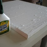 Then Mixed White Acrylic Paint And Pearl Medium Both From Micheals