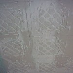 Tin Ceiling Tile Look For Almost Free Plaster And Paint