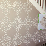 Truly Devine Design How Stencil Focal Wall