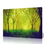 Watercolor Canvas Painting The