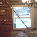 When Two Walls Rooms Your Main Living Space Are Real Bricks
